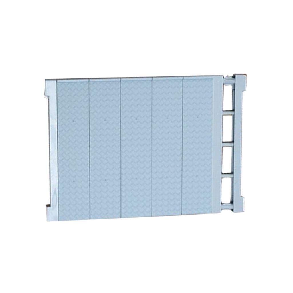 Homyl Estante de Colgante Ropa de Armario Accesorios F/ácil de Instalaci/ón Organizador Azul 30-40cm