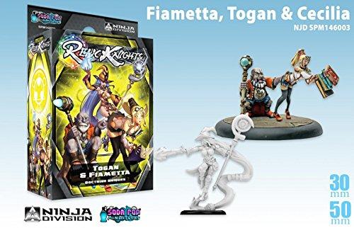 Relic Space Knights: Dark Space Relic Calamity: Fiametta Togan and Cecilia 41c311