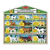 Melissa & Doug 19404 Canine Companions Pretend Play Figures - 12 Collectible Dog Breeds - Multi-Colour