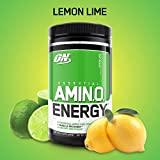 OPTIMUM NUTRITION ESSENTIAL AMINO ENERGY, Lemon Lime, Preworkout and Essential Amino Acids with Green Tea and Green Coffee Extract, 30 Servings