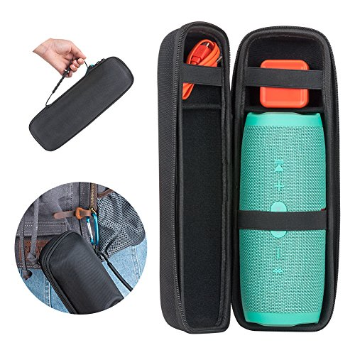 Price comparison product image P.KU.VDSL Carrying Case for JBL Charge 3, Bluetooth Speaker Bag for JBL Charge 3, Travel Protective Storage Bag Fits Charger & Cable