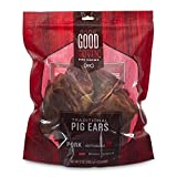 Good Lovin'' Traditional Pig Ear Dog Chews, 12 oz, Count of 25
