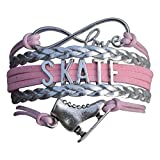 Figure Skating Jewelry- Girls Figure Skating Bracelet - Skate Bracelet- Perfect Figure Skating Gifts