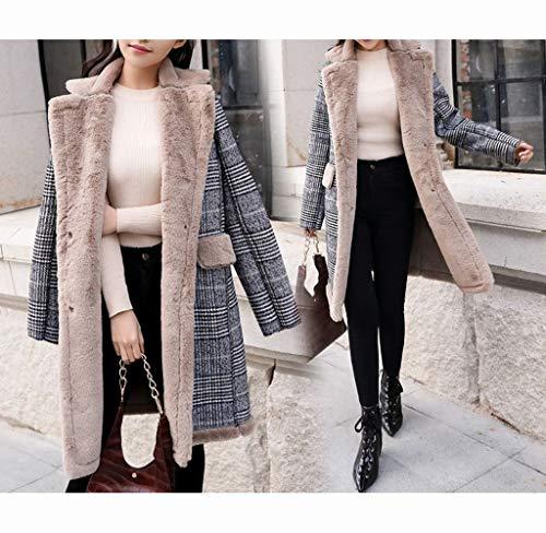 A Manteau Laine Chaud Et Section Laine Veste Épaisse Femelle Coton Coton Xqy De Hiver Manteau Longue Couture Automne qHUx4T
