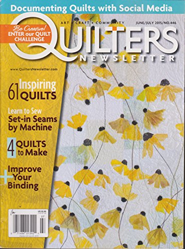Quilters Newsletter Magazine June/July 2015