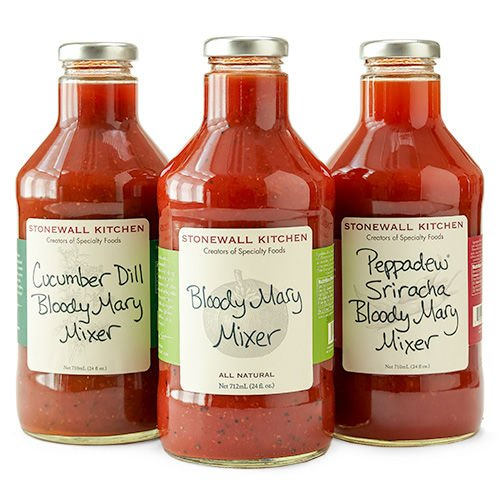 Stonewall Kitchen 3 Piece Our Bloody Mary Collection - 3 Bloody Mary Mixers - Bloody Mary Mixer