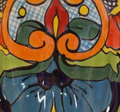 Fine Crafts Imports Rainbow Talavera Planter