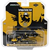 1969 Ford F-350 Ramp Truck with Shelby Cobra Terlingua Racing Team #16 HD Trucks Series 11 1/64 Diecast Models by Greenlight 33110 A