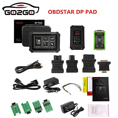 HONGDA OBDSTAR X300DP Key Master DP PAD Professional Car Key Programmer Mileage Correction EEPROM Adapter EPB ABS SRS Diagnostic Tool