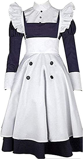 Black Butler Mey-rin Maid Costume Cosplay Clothing Costume-made COS