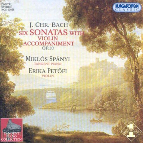 Six Sonatas With Violin Accomp ()