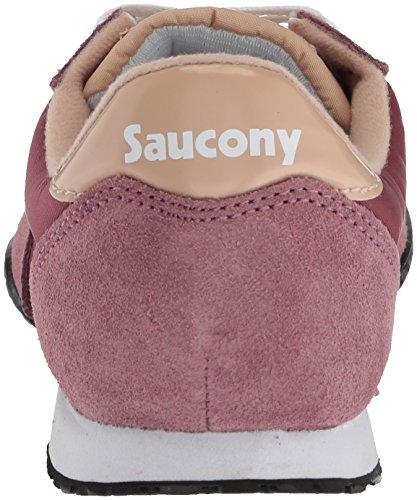 Originali Di Saucony Womens Bullet Sneaker Maroon / Tan