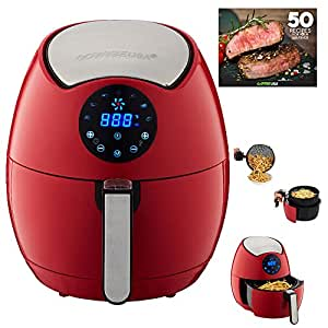 GoWISE USA 3.7-Quart Programmable 7-in-1 Air Fryer, GW22644