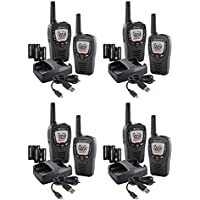 8 COBRA ACXT390 MicroTalk 23 Mile FRS/GMRS 22 Channel Walkie Talkie 2Way Radios