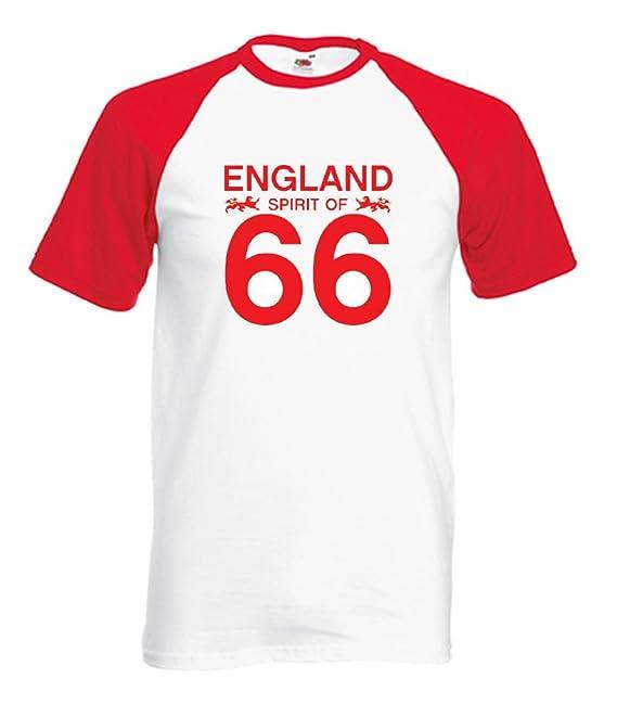360 Footy – Camiseta de fútbol de Inglaterra 66 – tamaño ...