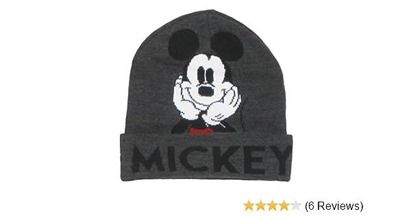 4d2bc1d3e7c Amazon.com  Disney Mickey Mouse Beanie  Clothing