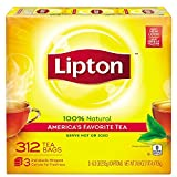 Our Master Blenders have crafted a delicious blend that includes carefully selected and fresh-pressed tea leaves, capturing as much natural tea taste as possible. Lipton Black Tea has real tea leaves specially blended to enjoy hot or iced. Enjoy Lipt...
