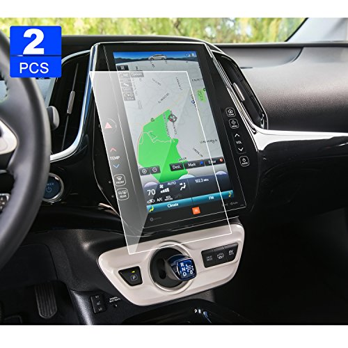 2 PCS LFOTPP Prius Prime Entune 11.6 Inch 2013-2018 PET Screen Protector, Display Touch Screen Radios Screen Protector Invisible Ultra HD Clear Film Anti Scratch Skin Guard Smooth Self-Adhesive