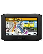 Garmin zumo 346 - GPS Moto - 4.3 pouces - Cartes Europe de l'Ouest 24 pays - Cartes, Trafic, Zones de Danger à Vie - Appels Mains Libres - Contrôle de la musique