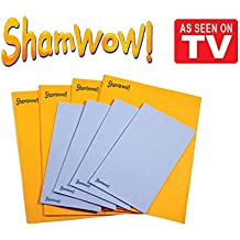 The Original Shamwow - Super Absorbent Multi-purpose Cleaning Towel Cloth, Machine Washable, Will Not Scratch, 8 Piece Set