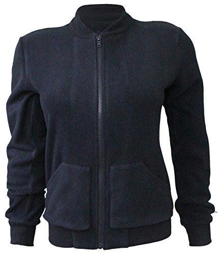 Attuendo femmes Toison Zip Jacket jusqu'à SweatShirt