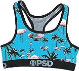 Cheap PSD Women's Flamingo Inn Sports Bra Underwear,Small,Turquoise