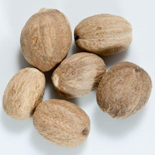 Nutmeg - Whole - 1 resealable bag - 4 oz