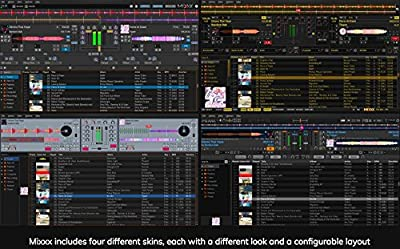 Professional DJ Mixing Software | Virtual DJ Serato Alternative | Controller Support for Windows & Mac | DJ or Karaoke [Mixxx PRO]