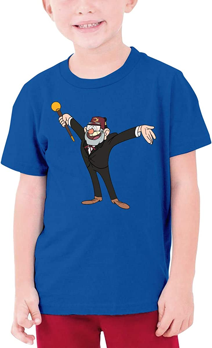 QIMING SHIPPING Gra-vity-Falls-Grunkle Stan Teenage T-Shirt,Boys T-Shirts,Girls T-Shirts,Size S-XL