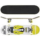 Roller Derby Rd Deluxe Series Skateboard Mr. Bear, Multi, 31'' x 8''