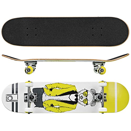 Roller Derby Rd Deluxe Series Skateboard Mr. Bear, Multi, 31