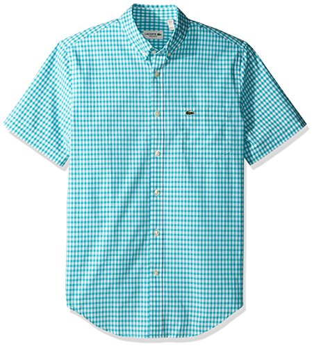 lacoste-mens-short-sleeve-gingham-check-poplin-reg-fit-woven-shirt-ch3941-bermuda-white-45