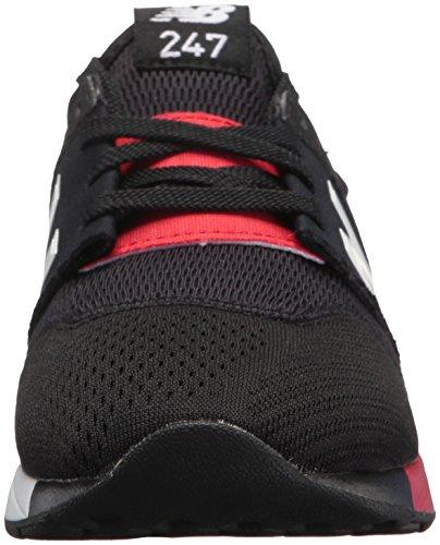 Balance Junior Boy rouge Bambino Sneakers Classic Noir Nbkl247 Mod 247 New TqndagwT