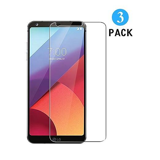 4 opinioni per 3 Pezzi Vetro Temperato LG G6, WEOFUN Display Proteggi Schermo per LG G6 H870