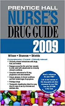 Book Prentice Hall Nurse's Drug Guide 2009--Retail Edition by Billie A. Wilson (2008-05-24)
