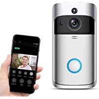 $149 » Video Motion Detector Doorbell Camera HD WiFi Doorbell Wireless Operated Audio&Speaker Night Vision for iOS&Android