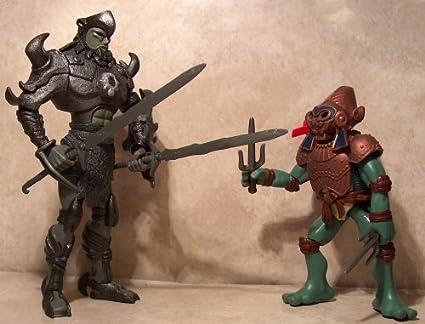 Teenage Mutant Ninja Turtles: General Aguila vs Raph