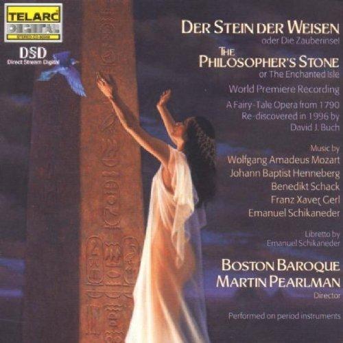 Der Stein der Weisen (The Philosopher's Stone) by Mozart, Hennebert, Schack, Gerl, Schikaneder / Pearlman, Boston Baroque (1999) Audio CD