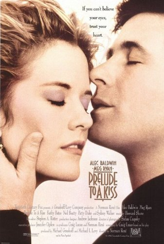 (PRELUDE TO A KISS - 27X40 D/S Original Movie Poster One Sheet 1992 Alec Baldwin)