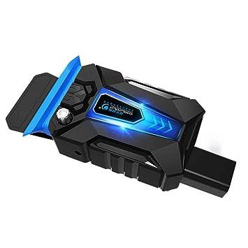 Topker CoolCold mini universal de enfriamiento del ordenador portátil del ventilador del USB Plug aire de extracción del radiador velocidad ajustable para ...