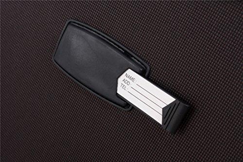 51wnBI6lL0L - 8005 3 piezas, 4 ruedas de maletas duras tela maleta conjunto de equipaje maleta de viaje en 5 coloures