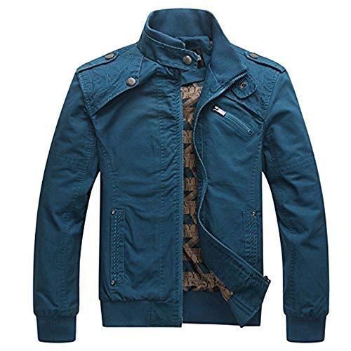 Big Soldier Lunga Slim Cerniera Capispalla Business Giacca Sportswear Battercake Giacche Blau Cappotto A Uomo Manica Comodo Vento Casual Con Da xIBI0w6Yq