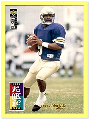 1995 Collector's Choice #3 Steve McNair RC HOUSTON OILERS ALCORN STATE Rookie
