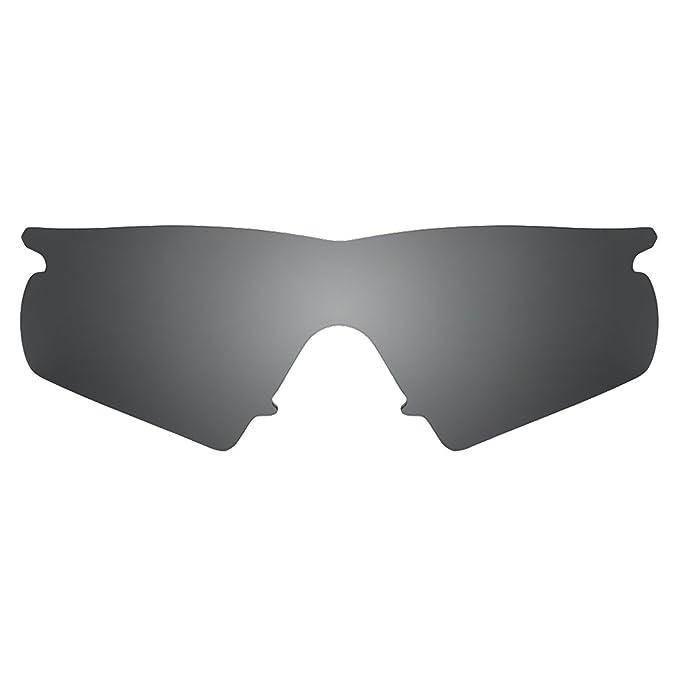2dbe04099768 Revant Polarized Replacement Lens for Oakley M Frame Hybrid Black Chrome  MirrorShield