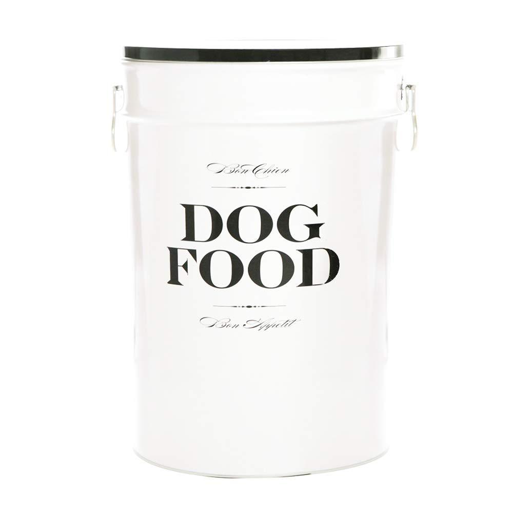Harry Barker Dog Food Storage Canister - Bon Chien - Black - 40 lb by Harry Barker