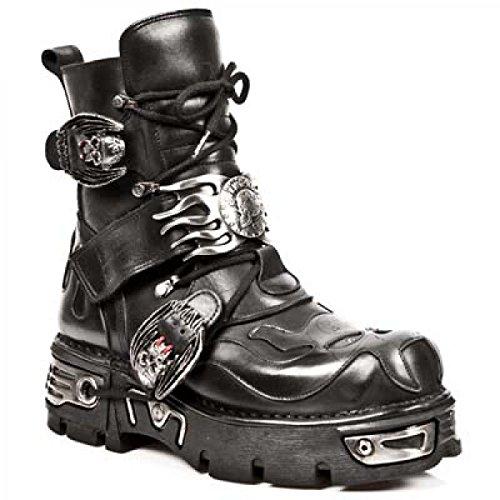 New Rock Laarzen M.188-c1 Gothic Hardrock Punk Unisex Stiefel Schwarz