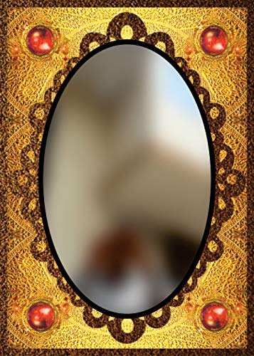 Buy Khushi Enterprises Handmade Engraving Frame Less Etched Mirror Size 18 24 Inch Online At Low Prices In India Amazon In