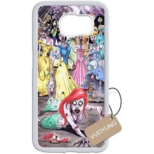 Diy Customized Cell Phone Case for Zombie Princess White Samsung Galaxy s7 Hard Back Cover Shell Phone Case (Fit Sales