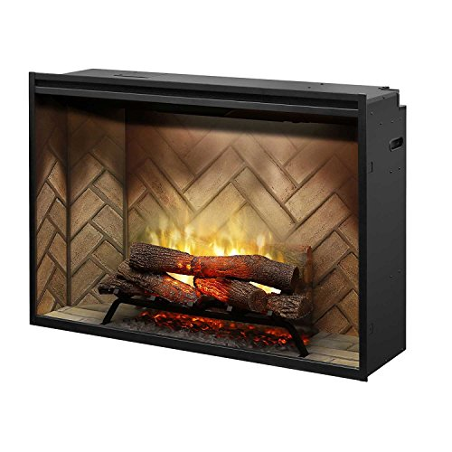 - Dimplex Revillusion 42-Inch Built-In Electric Fireplace - RBF42