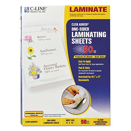 - CLI65009 - C-line Antimicrobial Cleer Adheer Laminating Film